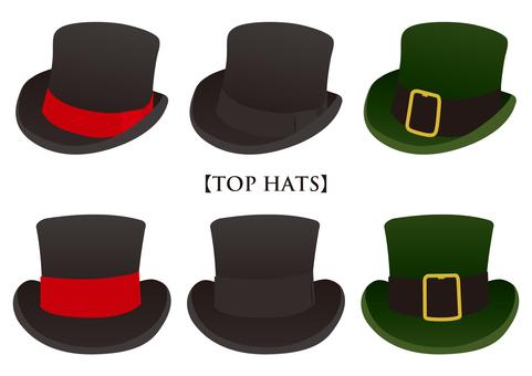 Silk hat set
