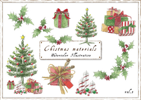 Christmas material _ 03