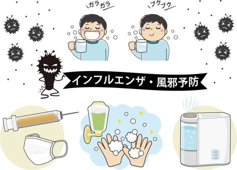 Influenza / cold prevention