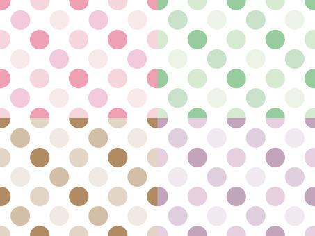 Polka dot (large) background 03