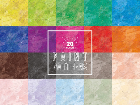 Paint pattern 20 colors