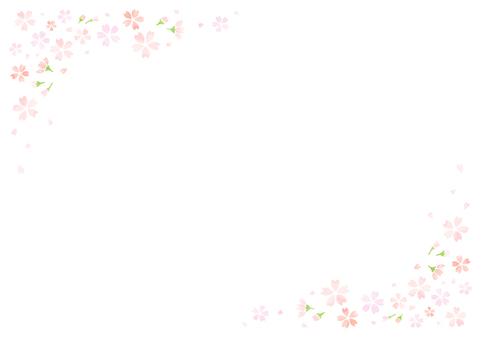 벚꽃 프레임 15