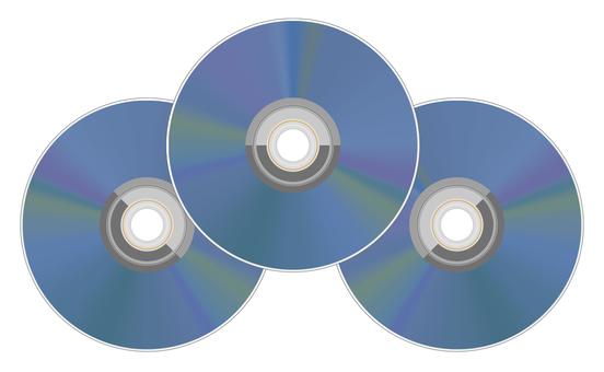 3個藍光光盤