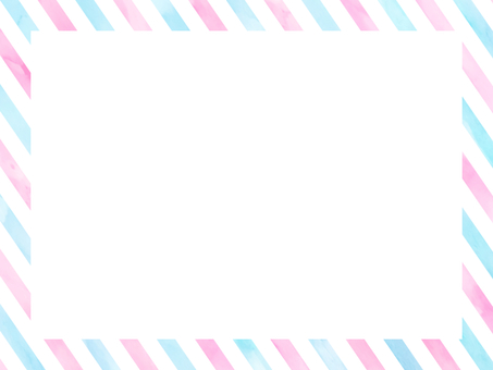 Watercolor tricolor stationery style