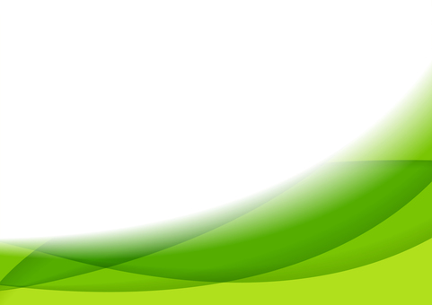 Green curve pattern abstract background material