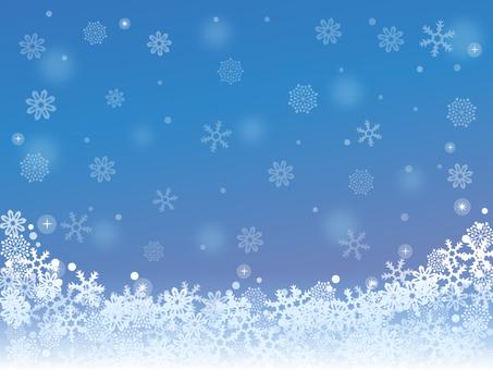 豪華な冬の景色1