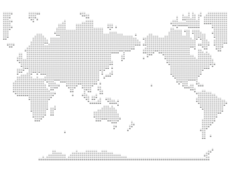 World Map Dot 06