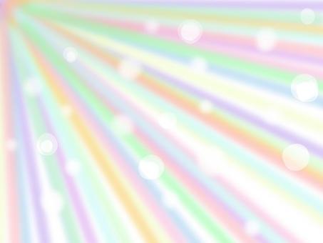 Rainbow-colored light