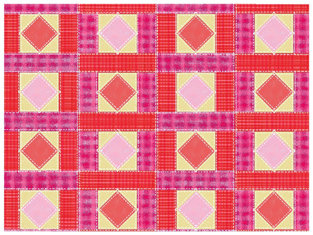 Patchwork style background