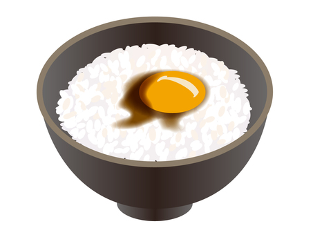Egg over rice