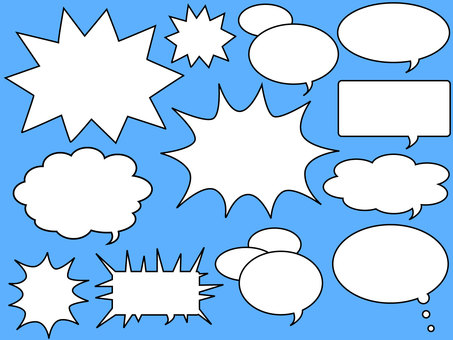 Speech balloon reform