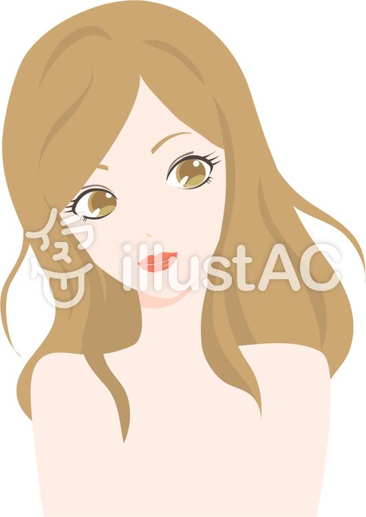 綺麗な女性イラスト No 738329無料イラストならイラストac