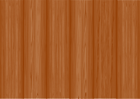 Wood grain series 4 vertical plate