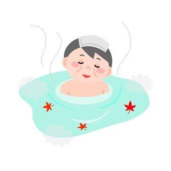 Hot spring (Grandpa)