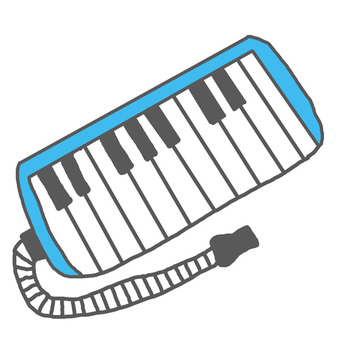 啦啦啦〜♪鍵盤口琴