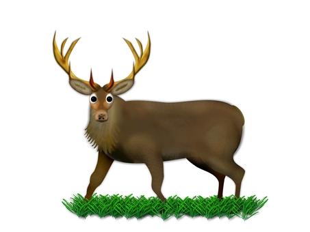 """Deer (1564) """"I, deer?"""""""