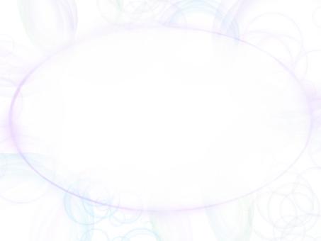 Fluffy soap bubble
