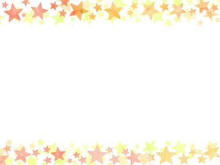Watercolor star wallpaper ②
