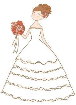 Dress ④ Line tea