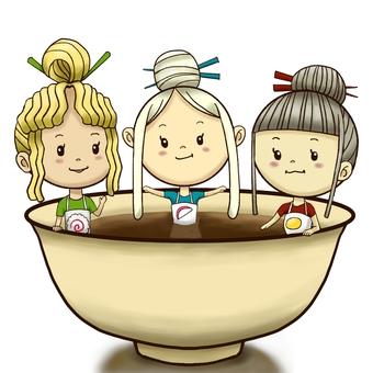 Noodle sisters