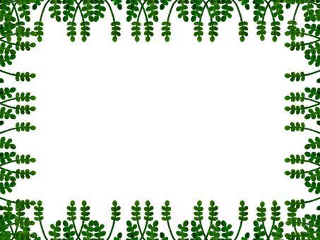 나뭇잎 프레임
