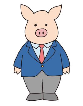 Pig Bo's faculty member series 1