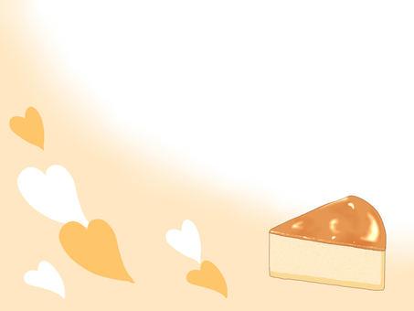 치즈 케이크 메모장 (노란색)