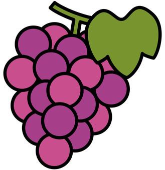 Autumn taste / grapes
