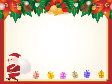 Frame of Santa Claus