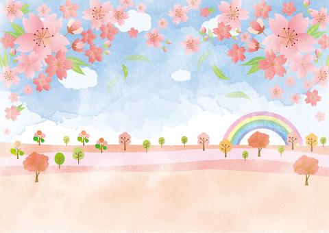 벚꽃의 언덕