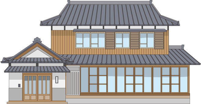 7 Japanese-style houses