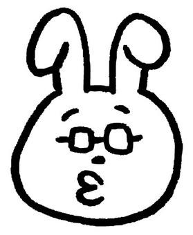 Usagi sensei only face