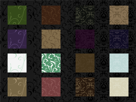 Western style wallpaper _ sample set