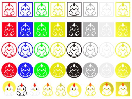 Rooster illustration 08