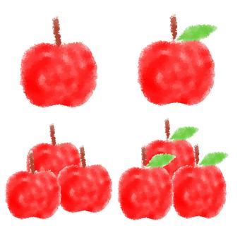 Stamp-like apples