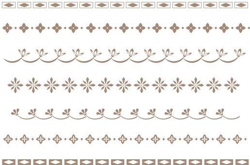 Simple decorative border 3