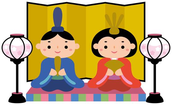 Hinamatsuri-05 (inside and back and dolls)