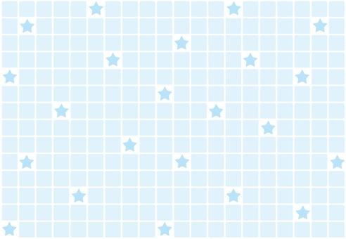 Wallpaper - Tile Star - Blue