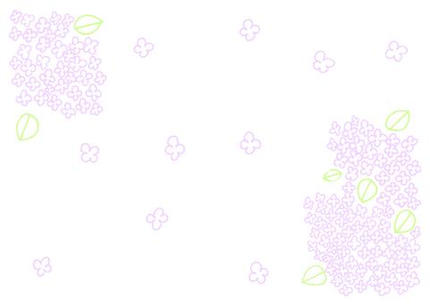 Lilac fluttering