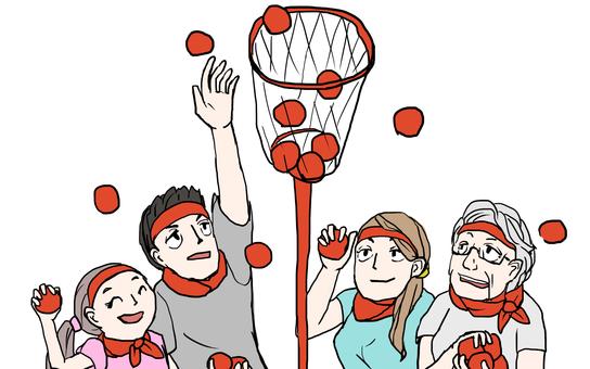 區域運動會杯球