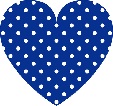Heart _ polka dots