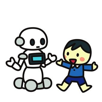 Robot and child