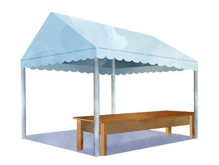 帳篷(三維)圖