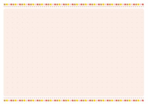 단순 프레임 (핑크)