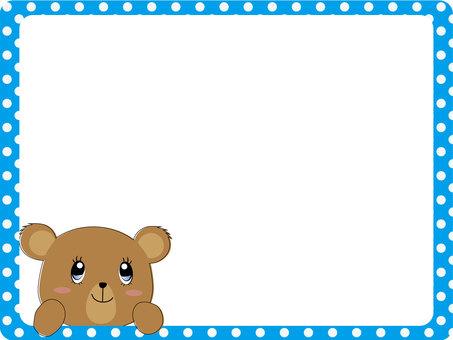 Retro Bear Frame 2