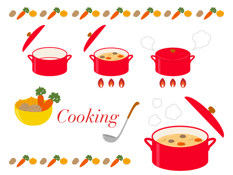 Cooking set _ Braised _ Cream stew