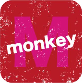 monkey stamp 02