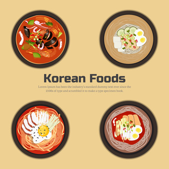 韓国食べ物コレクション