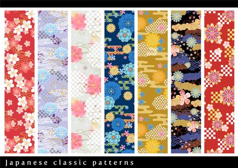 Pattern set 027 Japanese pattern set