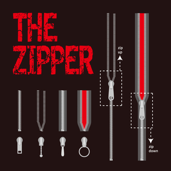 Zipper brush